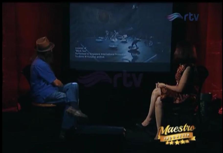 Maestro Indonesia RTV - Episode Sardono W. Kusumo Part 2