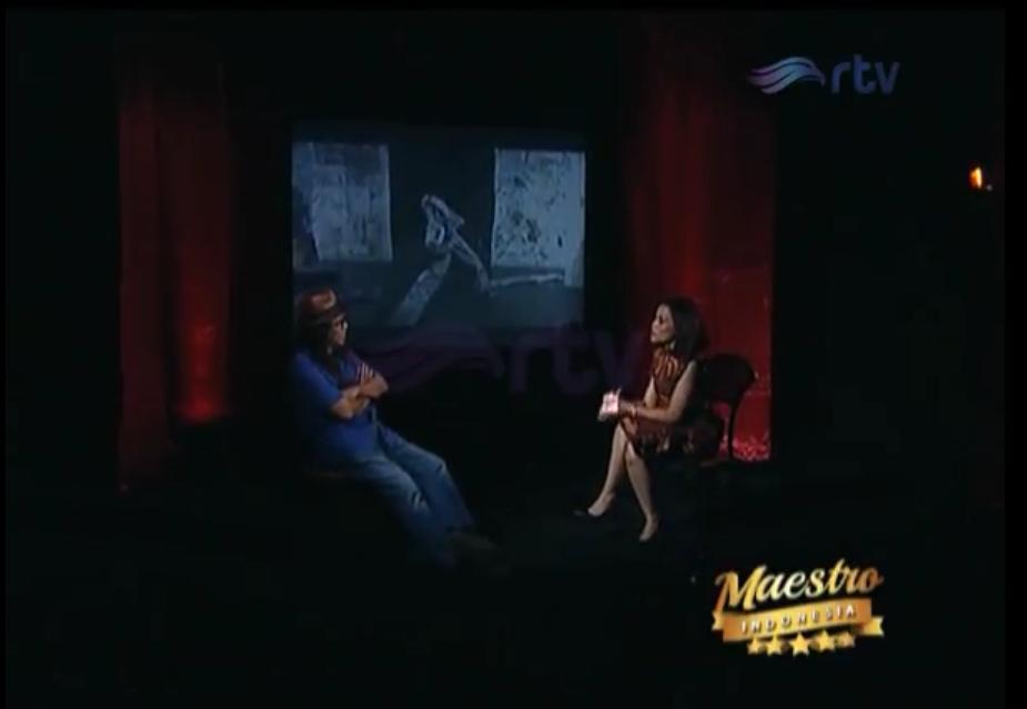 Maestro Indonesia RTV - Episode Sardono W. Kusumo Part 1