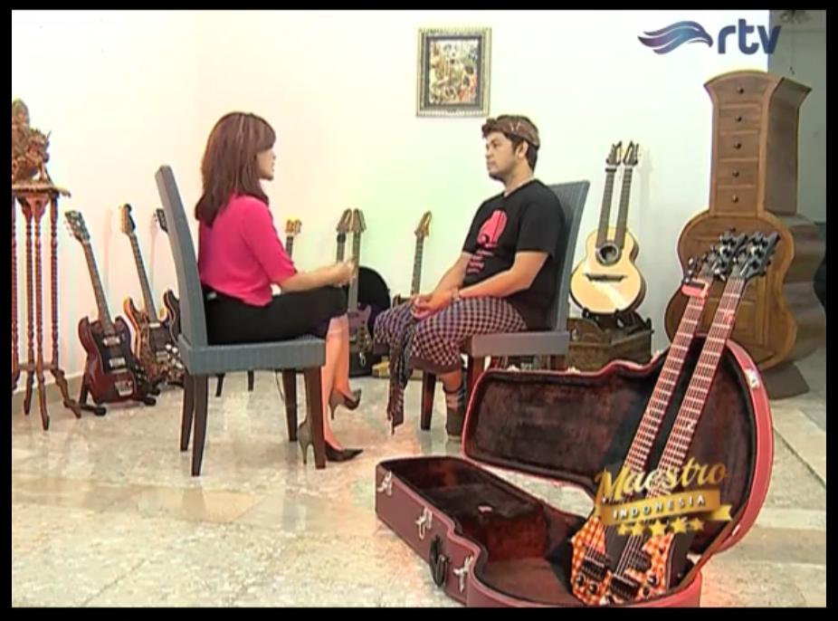 Maestro Indonesia RTV - Episode I Wayan Balawan Part 4
