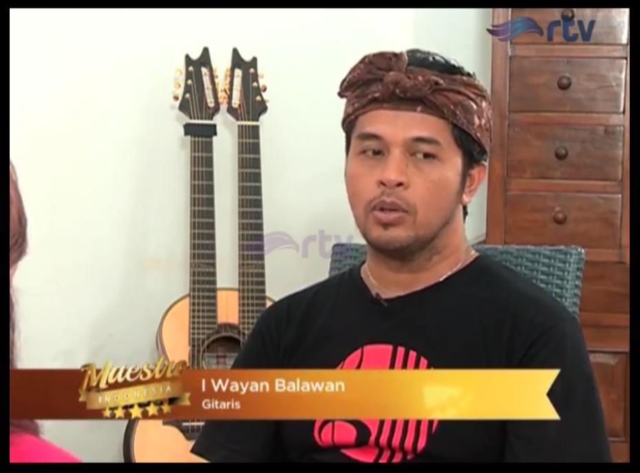Maestro Indonesia RTV - Episode I Wayan Balawan Part 3
